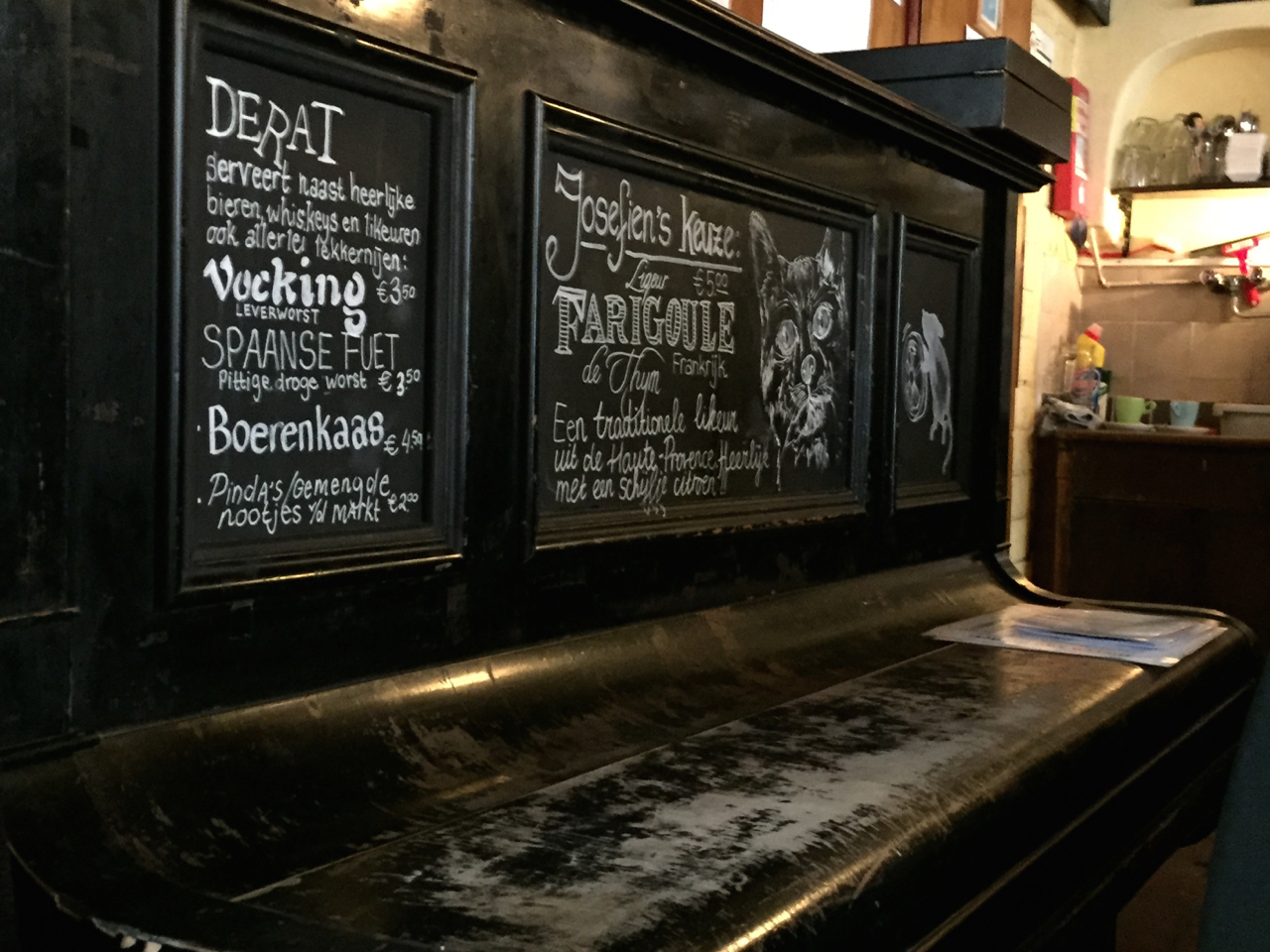 Café | Derat | Piano | bier | Utrecht